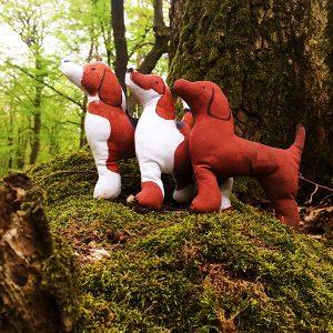 bígle v lese